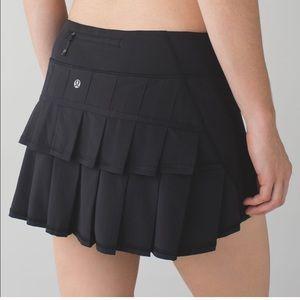 Lululemon Pace Setter Skirt Black Size 10